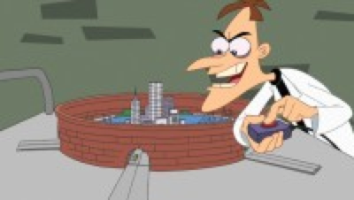 Dr. Heinz Doofenshmirtz, toll entrepreneur