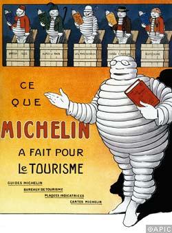 Ce Que Michelin A Fair Pour le Tourisme (Bibendum)
