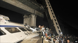China HSR Train Crash