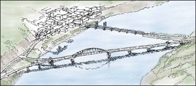 2003 Proposed alternative for new Stillwater Bridge (Low and Slow)