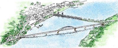 2011 Proposed alternative Stillwater Bridge