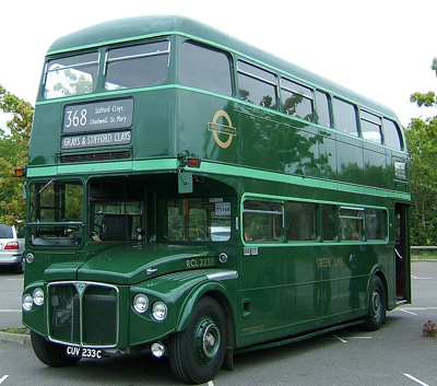 London Green Bus (Country Bus)