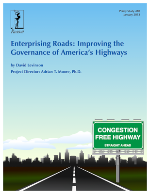 Enterprising Roads: Improving the Governance of America's Highways