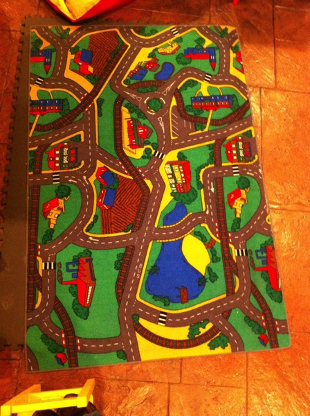 Rug 1: Children's Play Rug of Rugville
