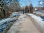Off road bike trail