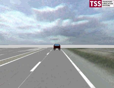 Travel perception experiment at traffic signals
