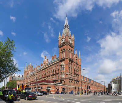 St Pancras from wikimedia commons