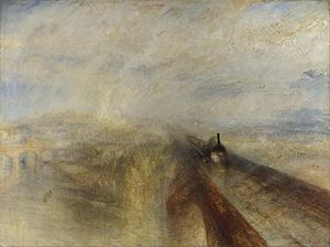 Rain, Steam and Speed - The Great Western Railway by J.M.W Turner (1844)