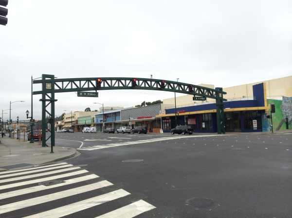 B Street Crossing, Hayward California