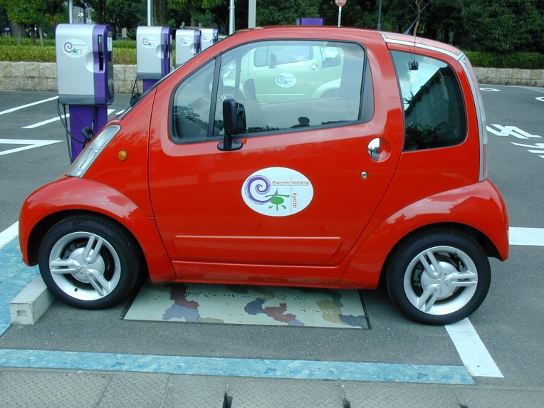Electric Vehicle in Kyoto