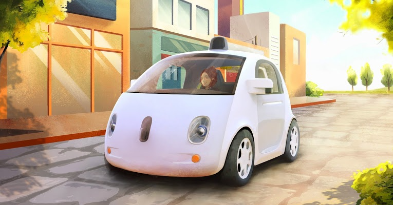 Google Self-Driving Car Project Vehicle