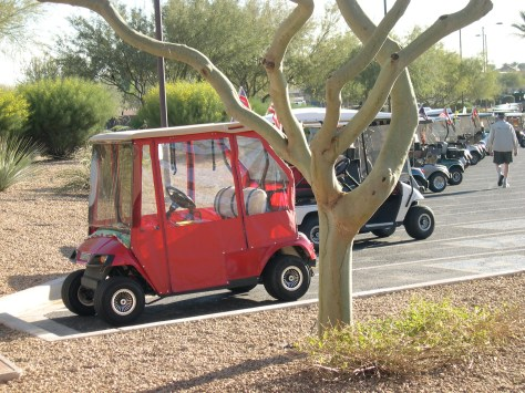 Golf Carts in Sun City Grande, Arizona
