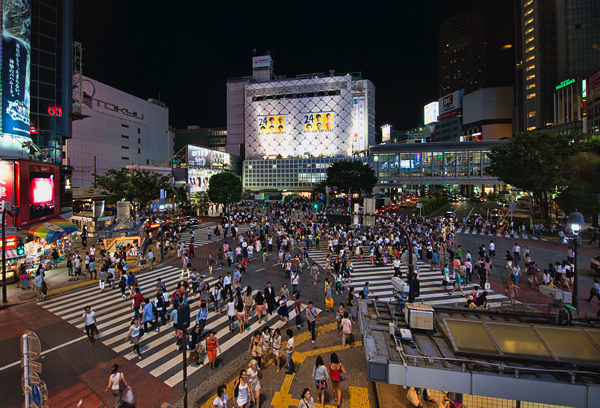 Shibuya, Japan (from wikimedia commons)