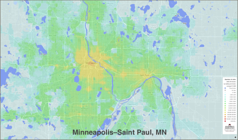 Transit Accessibility in Minneapolis