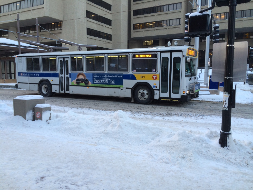 Buses are coldly efficient.