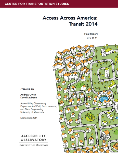 Access Across America : Transit 2014