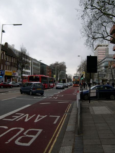 Buses are franchised out in London, and in many places have exclusive lanes