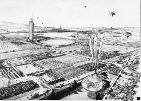 Wright's Broadacre City (1934)