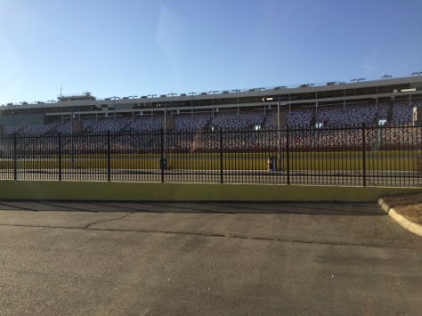 Charlotte Motor Speedway from the Infield