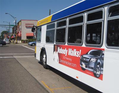 According to jailed car salesman Denny Hecker, Nobody Walks.