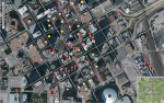 Map of my photos in Fort Worth