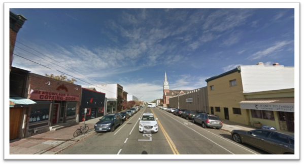 ONE-WAY TO TWO-WAY CONVERSION IN DENVER, CO (Source: Google Street View)