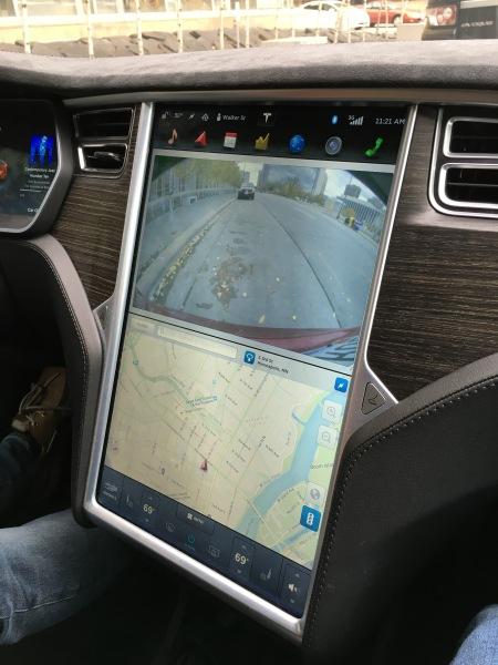 Tesla Model S User Interface