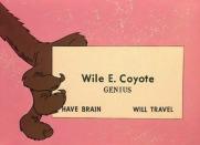 wileecoyotebusinesscard