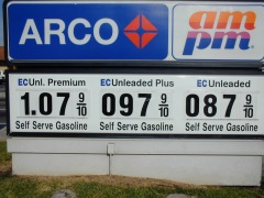 Fresno Gas Prices (Dec 2001)