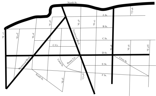 HIERARCHICAL STREET NETWORK FOR METROPOLIS