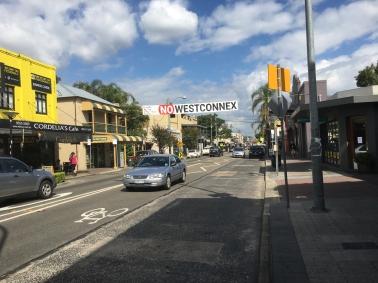 No WestConnex (Rozelle, Sydney, NSW)