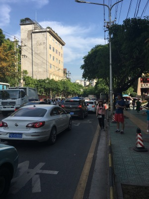 Traffic in Enshi