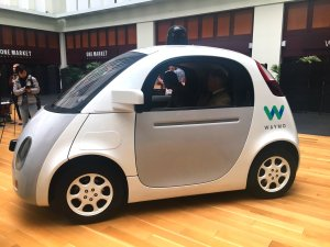 Google/Waymo car, soon to be retired