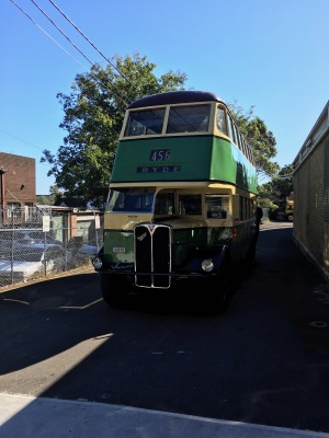 Historic Sydney Bus. Ours was newer, but less well ventilated.