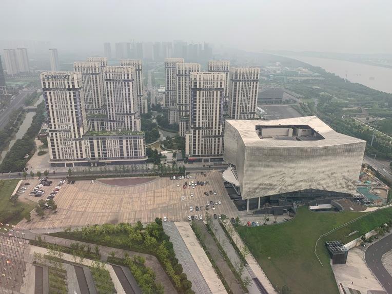 A view in Nanjing