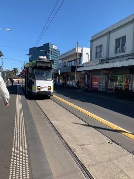 Tram in Footscray