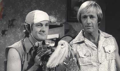 John Cornell and Paul Hogan, mates