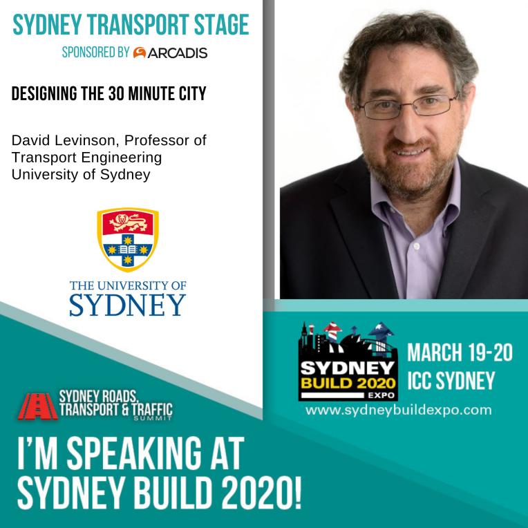David Levinson - University of Sydney