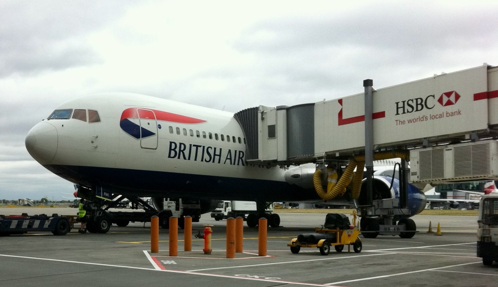 British Airways aircraft at Heathrow. Airplanes will remain rare in Australia for some time.