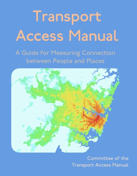 Transport Access Manual cover